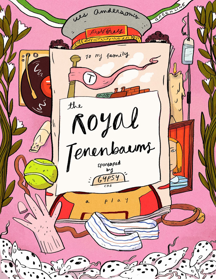 Natalie Andrewson: Wes Anderson Posters / on Design Work Life