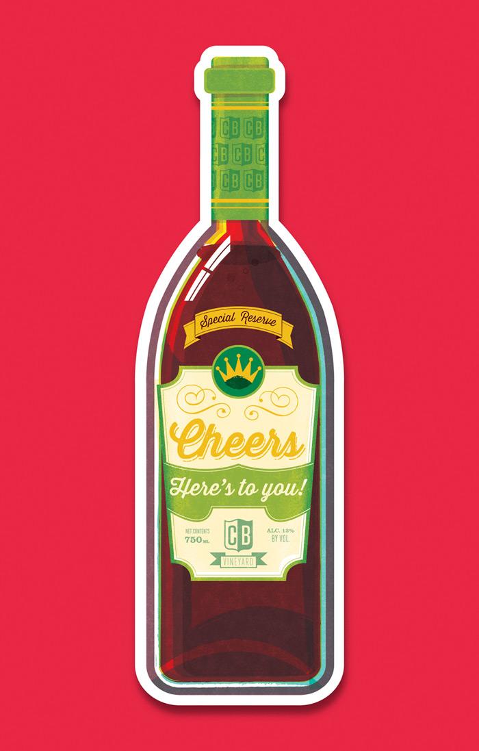 Scotty Reifsnyder: Cheers Notecards / on Design Work Life