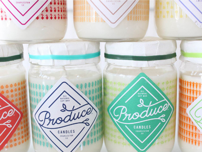 Stitch Design Co.: Produce Candles / on Design Work Life