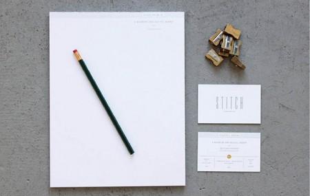 Stitch Design Co.: New Stationery / on Design Work Life