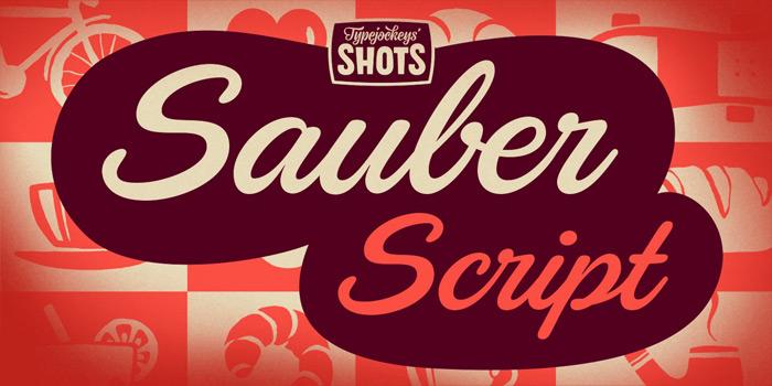 Type Jockeys: Sauber Script / on Design Work Life