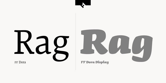 Type Love: FF Dora / on Design Work Life