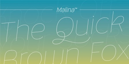 Type Love: Malina / on Design Work Life