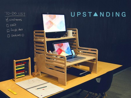 The Upstanding Desk / on Design Work Life