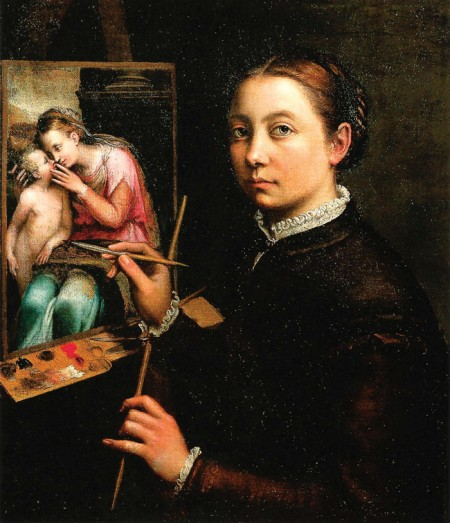 Painter Sofonisba Anguissola / on Design Work Life