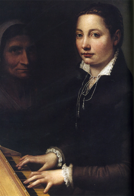 Self-Portrait with Clavichord, 1561