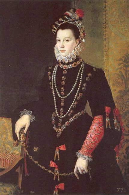 """Queen Isabel de Valois"", 1565"