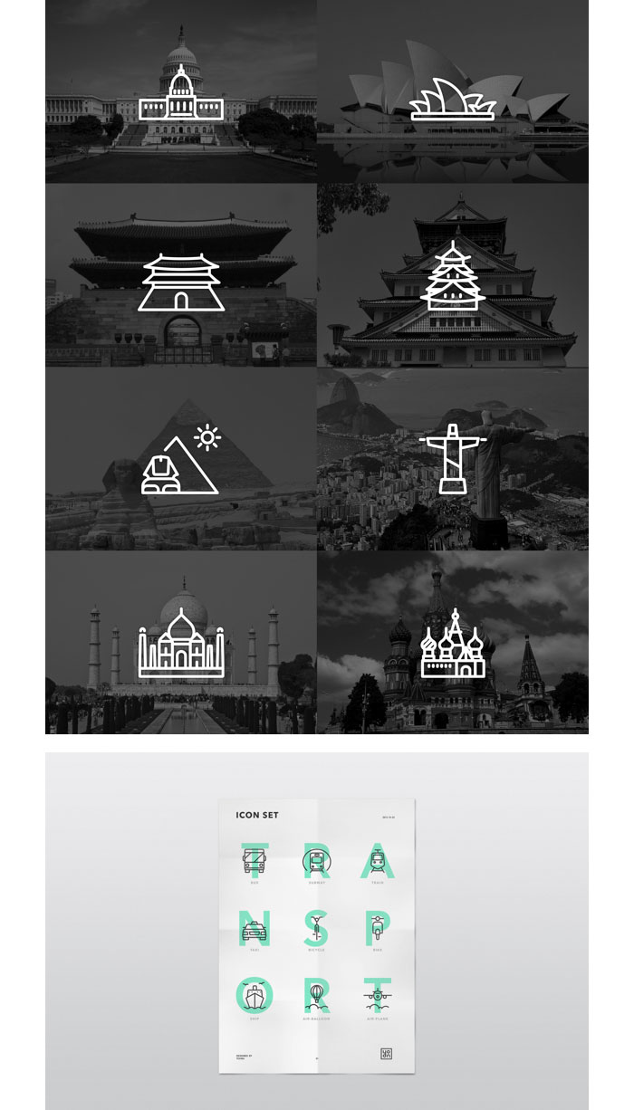 Alliteration Inspiration: Icons & Imbibing / on Design Work Life