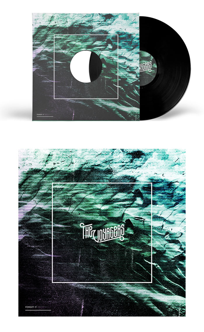 Nozem Amsterdam / Record sleeve design - The Voyagers