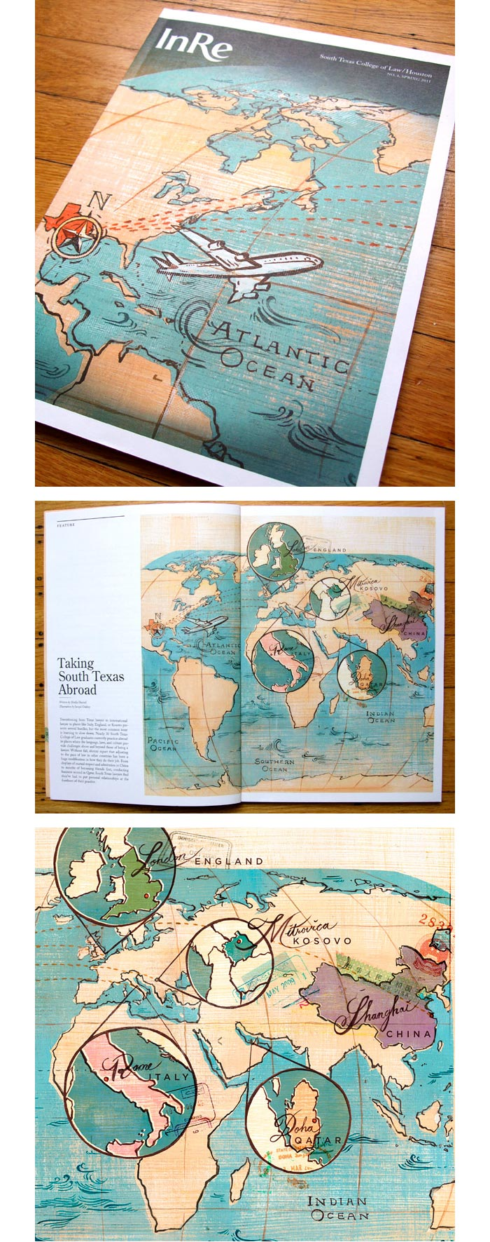 Jacqui Oakley / Illustration & book design - Taking South Texas Abroad
