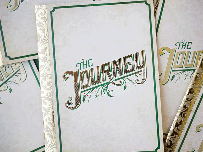 Kelsey de Lannoy / Booklet design - The Journey