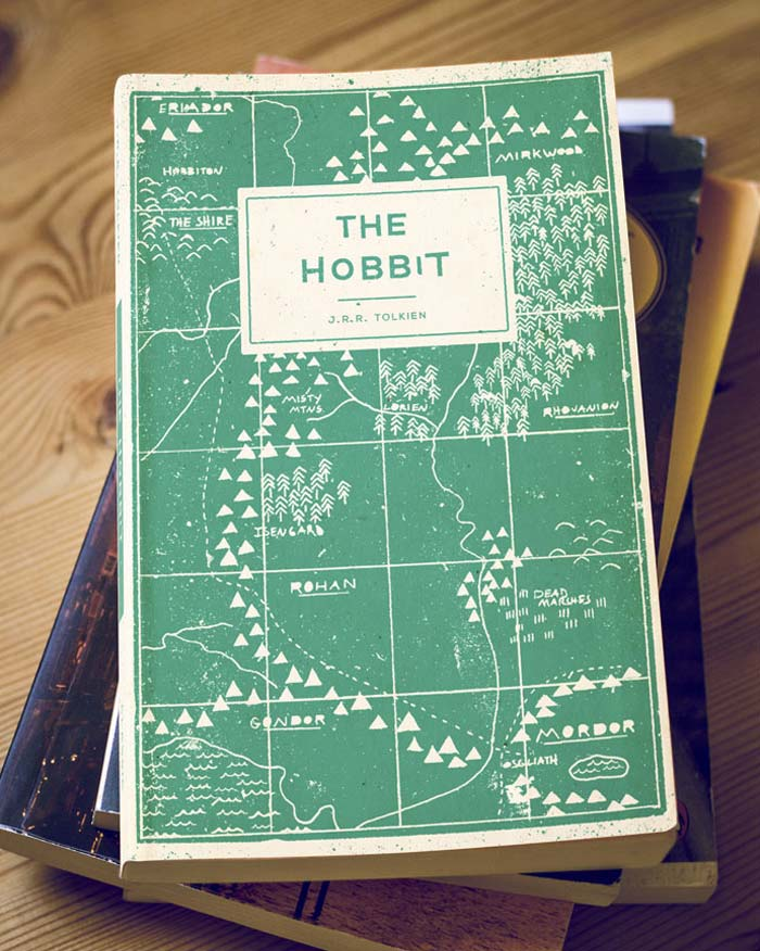 Buzz Studios / Book cover design - The Hobbit