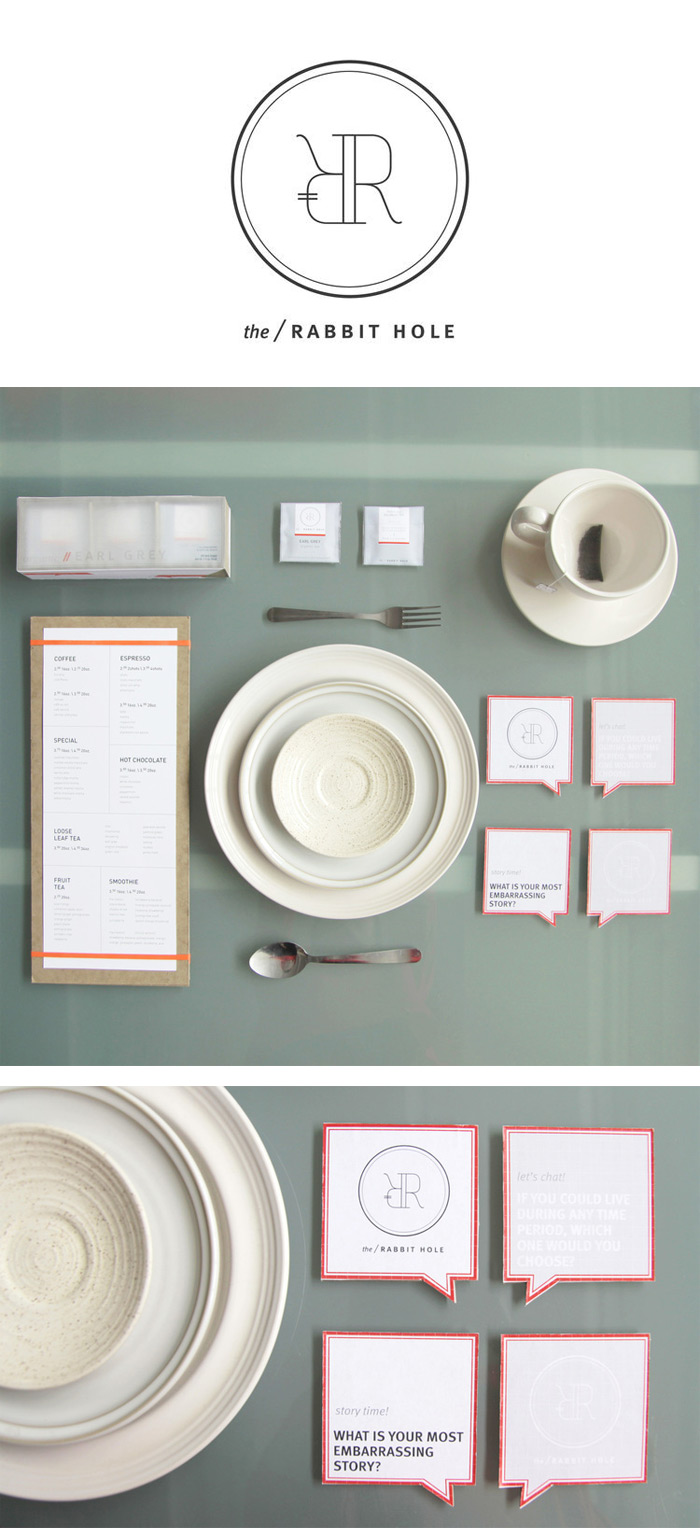 Tiffany Hsu / Brand identity concept - The Rabbit Hole