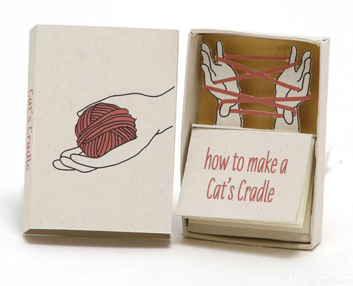 Green Chair Press: Miniature Matchbox Books / on Design Work Life