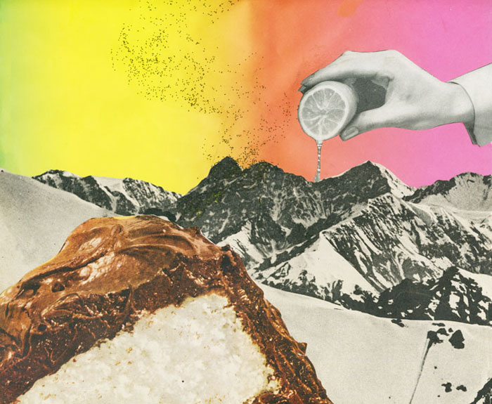 Leeay Aikawa: Mixed Media Collages / on Design Work Life