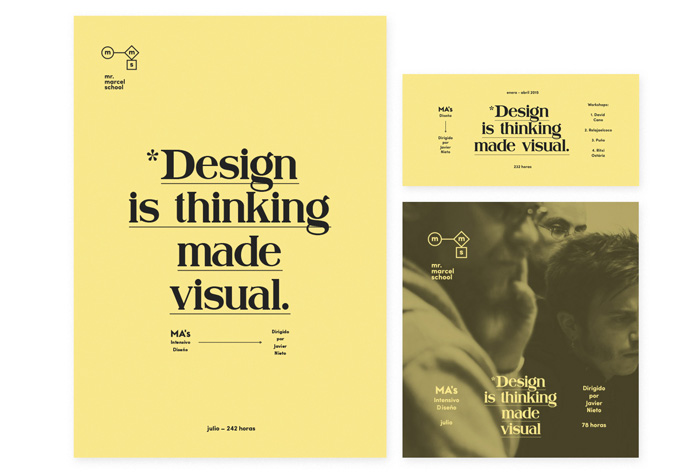 Tata&Friends: Mr. Marcel School Rebrand / on Design Work Life