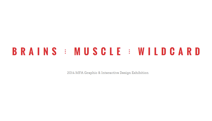 Tyler School of Art: Brains, Muscle, Wildcard / on Design Work Life