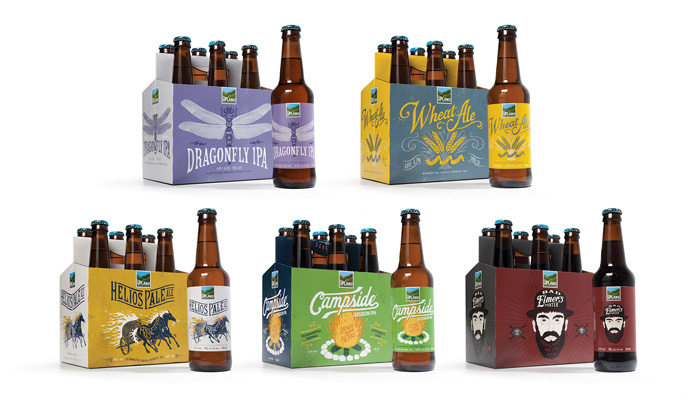 Young & Laramore - Upland Brewing Co. Packaging / on Design Work Life