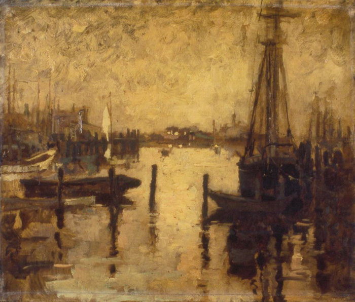 """Gloucester Harbor"", late 1880s or early 1890s"