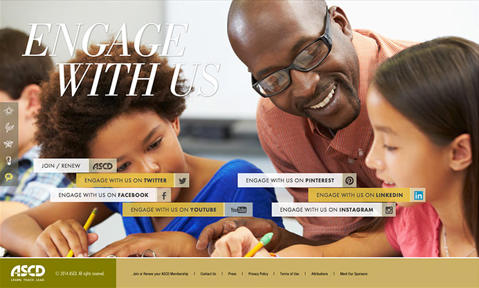 ASCD: 2013 Annual Report Website / on Design Work Life