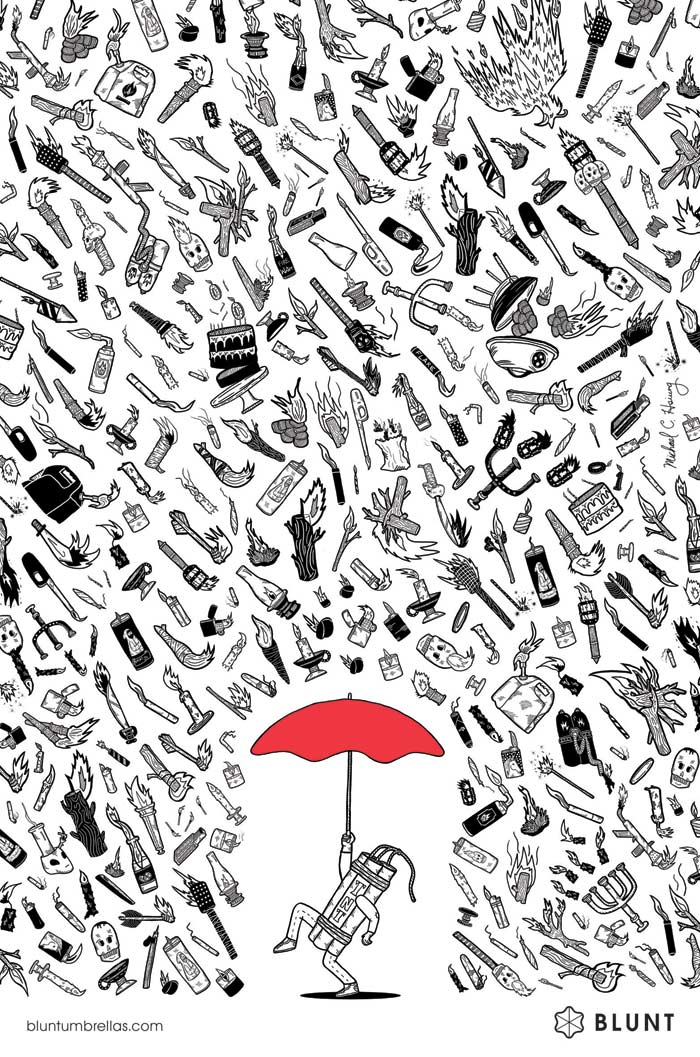 Alliteration Inspiration: Universe & Umbrellas / on Design Work Life