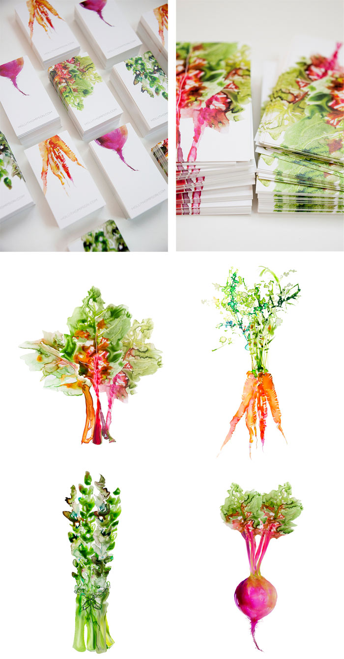 Alliteration Inspiration: Veggies & Vacation / on Design Work Life