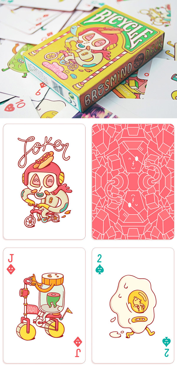 Brosmind - Playing cards design