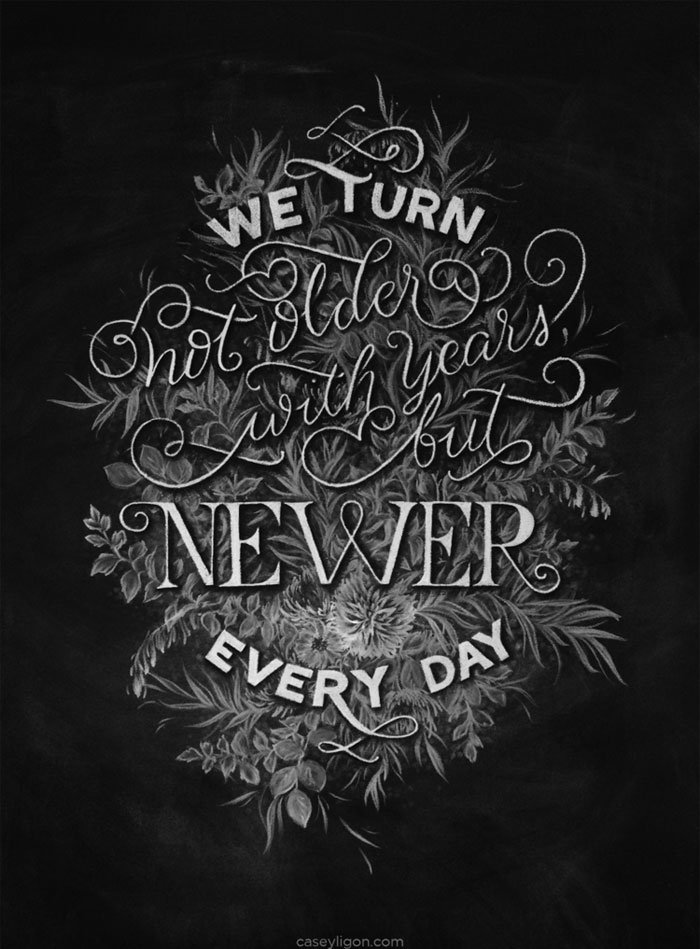 Casey Ligon: Hand Lettering / on Design Work Life
