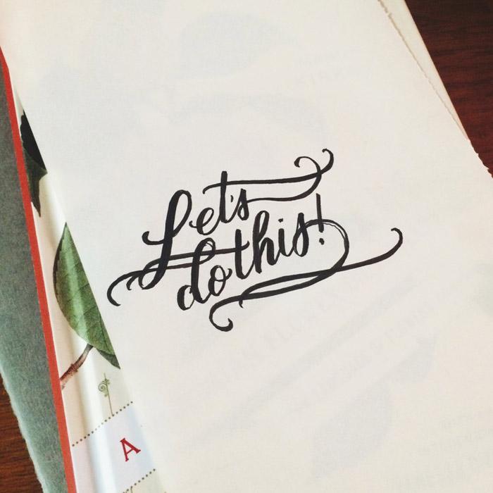 Casey Ligon: Hand Lettering / on Design Work Life
