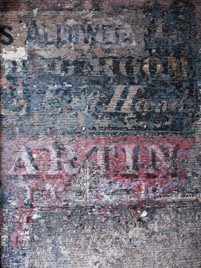 Etsy Finds: Ghost Signs / on Design Work Life