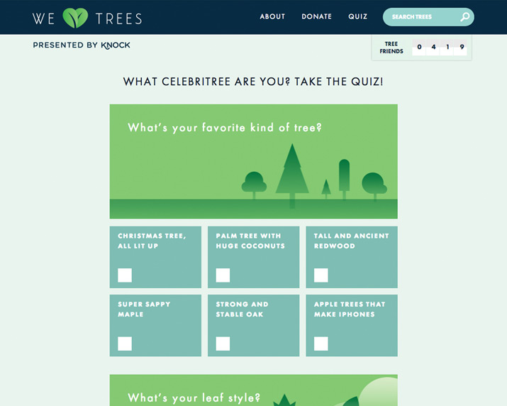Knock: We Heart Trees / on Design Work Life