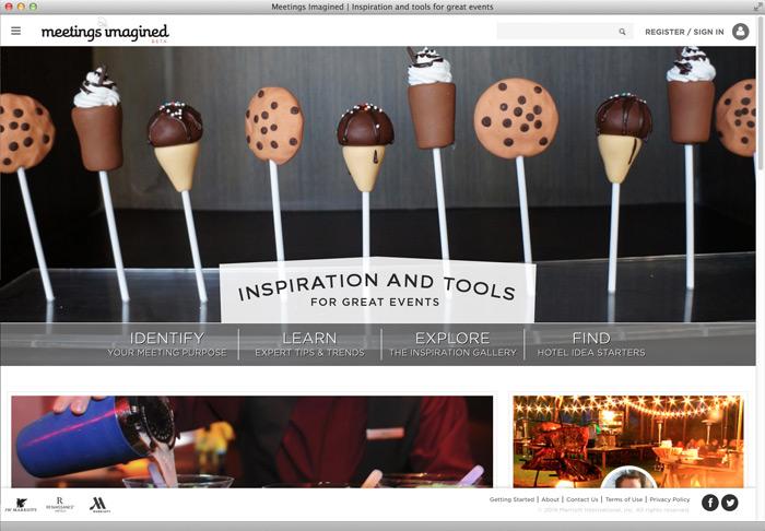 Marriott Meetings Imagined / on Design Work Life
