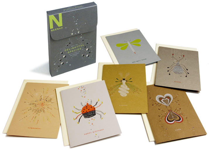 Neenah Papers Environment Notecards / on Design Work Life