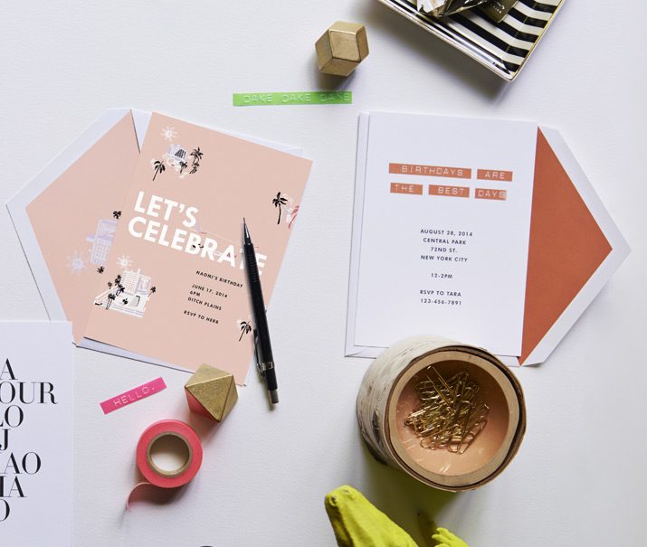 Paperless Post for J. Crew / on Design Work Life