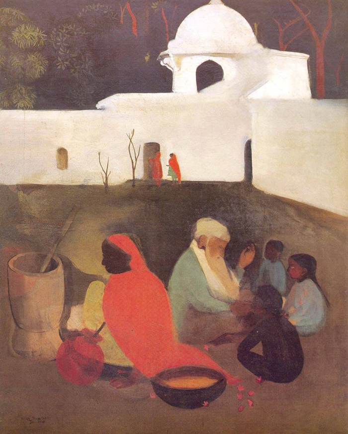 """Ancient Storyteller"" (1940)"