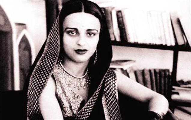 Photograph of Amrita Sher-Gil / on Design Work Life