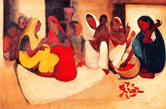 """Village Scene"" (1938)"